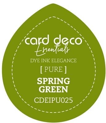 Card Deco Essentials Fade-Resistant Dye Ink - Spring Green - CDEIPU025