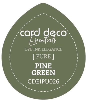 Card Deco Essentials Fade-Resistant Dye Ink - Pine Green - CDEIPU026