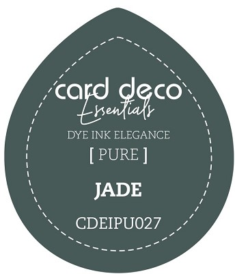 Card Deco Essentials Fade-Resistant Dye Ink - Jade - CDEIPU027