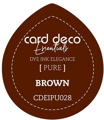 Card Deco Essentials Fade-Resistant Dye Ink - Brown - CDEIPU028