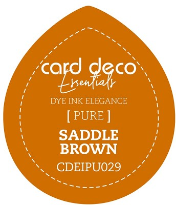 Card Deco Essentials Fade-Resistant Dye Ink - Saddle Brown - CDEIPU029