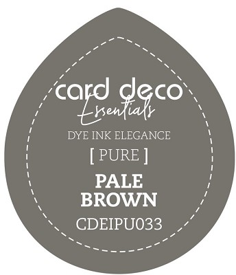 Card Deco Essentials Fade-Resistant Dye Ink - Pale Brown - CDEIPU033
