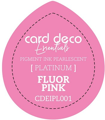 Card Deco Essentials Fast-Drying Pigment Ink Pearlescent Fluor Pink - CDEIPL001