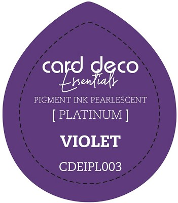 Card Deco Essentials Fast-Drying Pigment Ink Pearlescent -  Violet - CDEIPL003