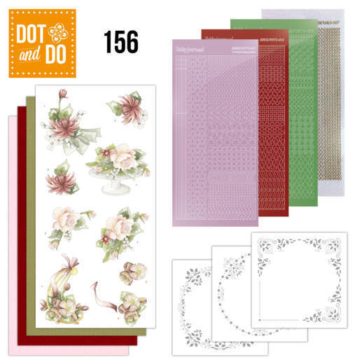 Dot and Do 156 Sweet Summer Flowers - DODO156