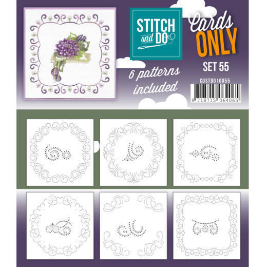 Cards only Stitch 55 - COSTDO10055