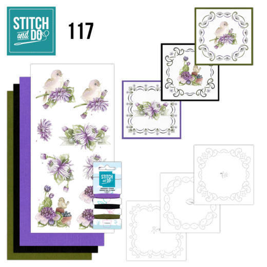 Stitch and Do 117 Chrysanthemum-STDO117
