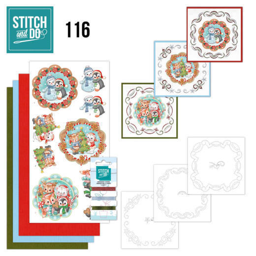 Stitch and Do 116 Sweet Winter Animals-STDO116