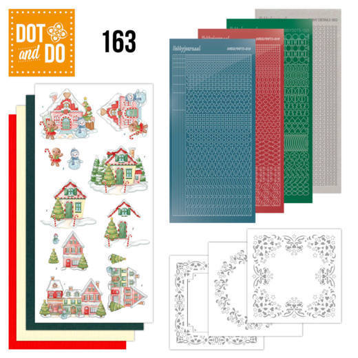 Dot & Do 163 Sweet Houses - DODO163