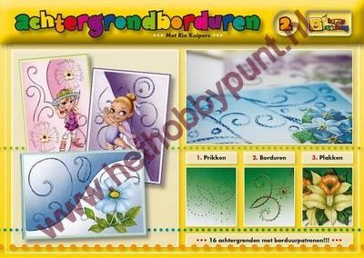 Achtergrondborduren 2 (Happy Stitching) - Rie Kuipers