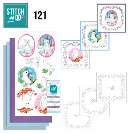 Stitch and Do 121 - Winter Friends - STDO121