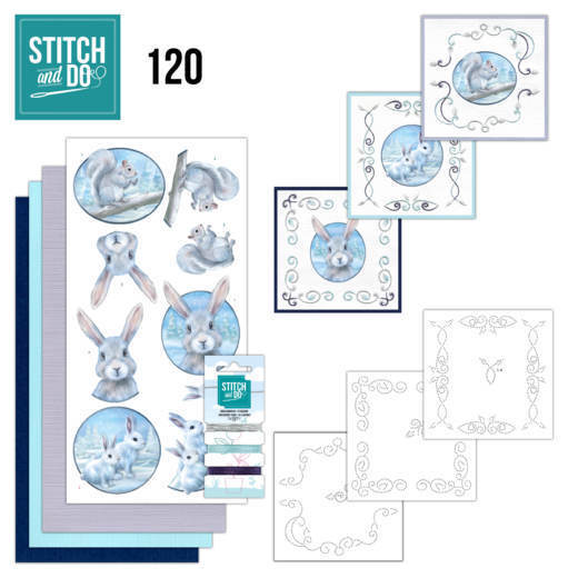 Stitch and Do 120 Artic Friends - STDO120