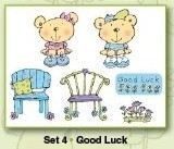 Stampies Clearstampies - Good Luck - Set 4 - CardDeco - ST10004