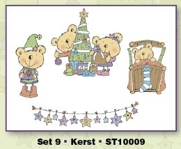 Stampies Clearstampies - Kerst - Set 9 - CardDeco - ST10009