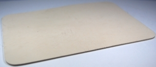 Siliconen - Embossingmat voor Cuttlebug - Beige 1,6 mm dik - Craftemotions - 11539/6997