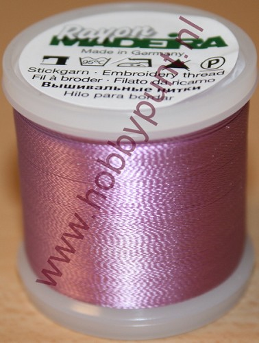 Madeira Rayon 40 - Med. Orchid - 200 meter - Kleur: 9840-1031