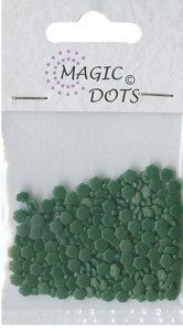 Magic Dots - Flower Xmas Green - Nellie Snellen - MDF016