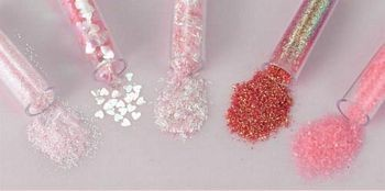 Glitters - Hobby & Crafting Fun - Roze gemengd - 12086-8603