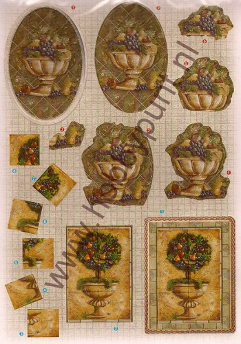 3D Push-out - Glitter Decoupage - Joy Crafts - 6013/0611