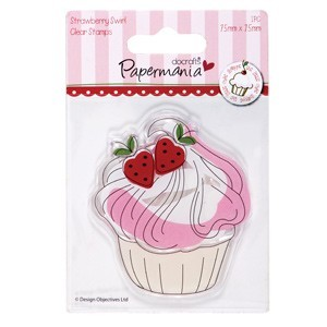 Clear Stamp - Little Cake Shopper - Papermania - PMA907203