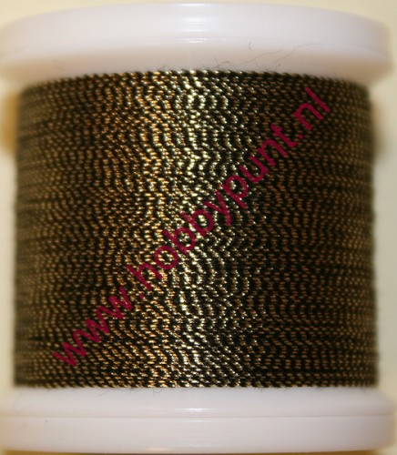 Madeira Metallic 40 - Antique Gold - 200 meter - Kleur: 9842-424