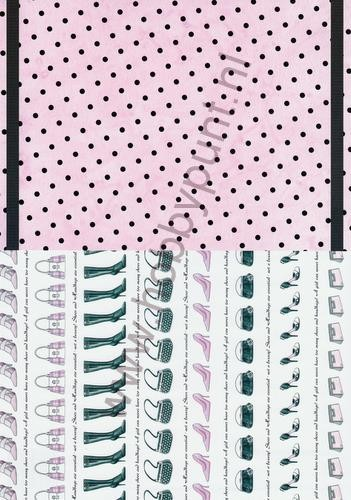 Achtergrondpapier - Design House - Accessories - Roze met Stippen