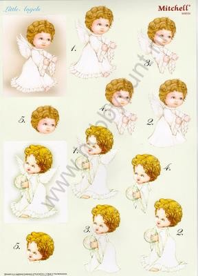 Push Out - Mitchell - 3D Little Angels - Kerst- 949034