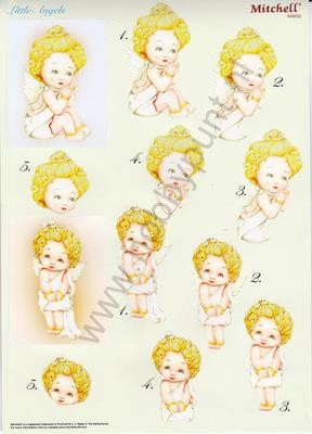 Push Out - Mitchell - 3D Little Angels - Kerst - 949032