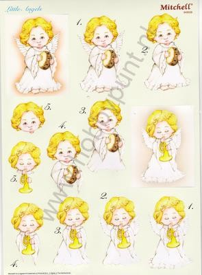 Push Out - Mitchell - 3D Little Angels - Kerst - 949028