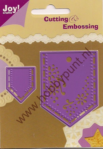 Snijmal en Embosmal - Ornamenten - Joy Crafts - 6002/0061