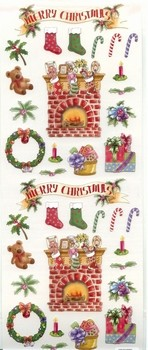 Stickerset - Hobby & Crafting Fun - Christmas - 12122-2211