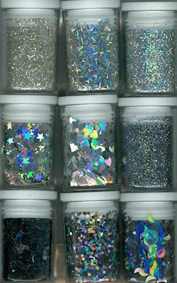 Glitters - Hobby & Crafting Fun - Zilver - 12194-9402