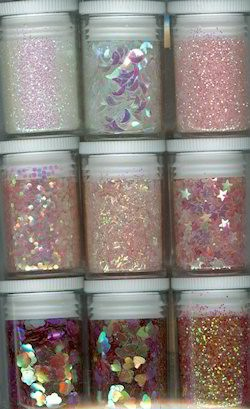 Glitters - Hobby & Crafting Fun - Roze - 12194-9407