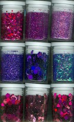 Glitters - Hobby & Crafting Fun - Paars - 12194-9405