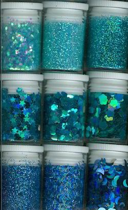 Glitters - Hobby & Crafting Fun - Blauw - 12194-9406