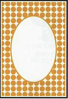 Crafts-Too - Embossing Folder - Dots Frame - CTFD3045
