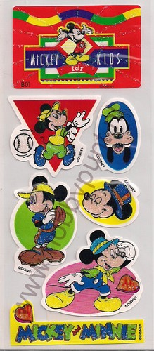 Stickers - Mickey for Kids - B01