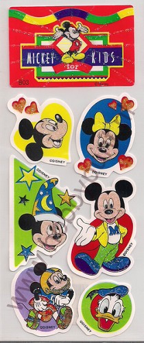 Stickers - Mickey for Kids - B03