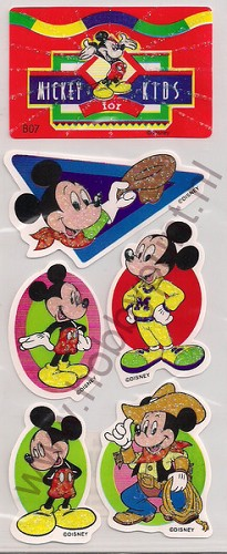 Stickers - Mickey for Kids - B07