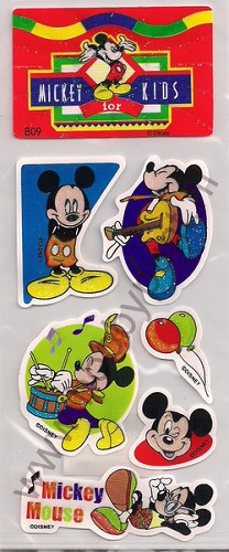Stickers - Mickey for Kids - B09