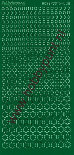 Hobbydots - Stickervel - Adhesive Green - Serie 8