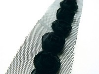Flower Ribbons / Linten - Black - Marianne Design - FR1120