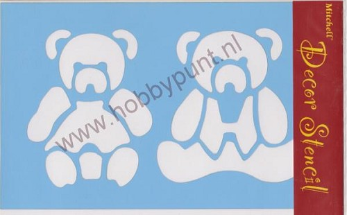 Decor Stencil - Mitchell - Beertjes - 311004