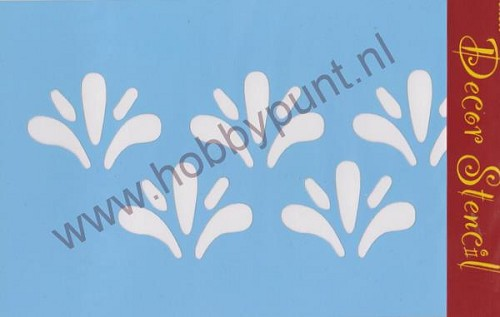 Decor Stencil - Mitchell - Ornamenten - 311055