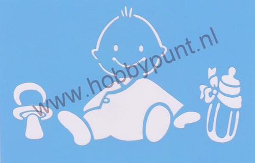 Decor Stencil - Mitchell - Baby - 311064
