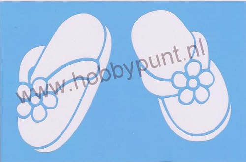 Decor Stencil - Mitchell - Slippers - 311065