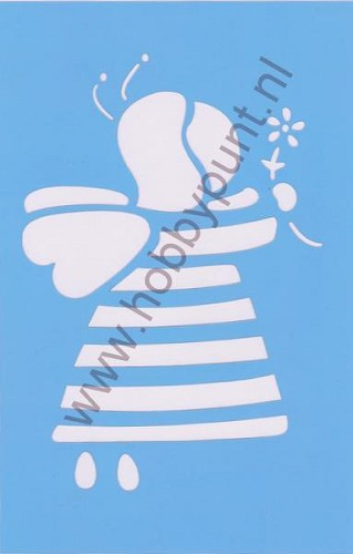 Decor Stencil - Mitchell - Bij - 311066