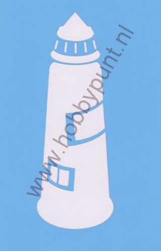 Decor Stencil - Mitchell - Vuurtoren - 311069