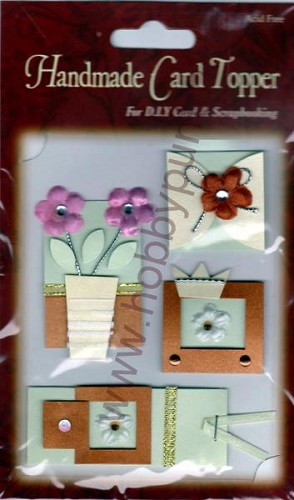 Embellishments - Handmade - Card Topper - 6012