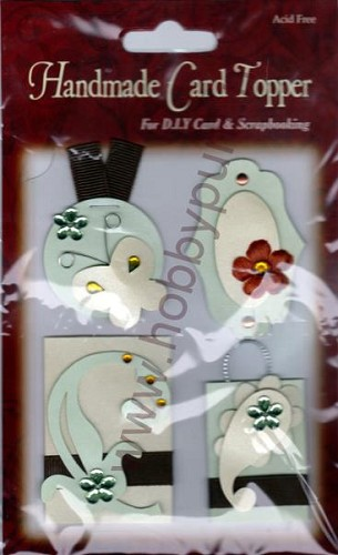 Embellishments - Handmade - Card Topper - 6022